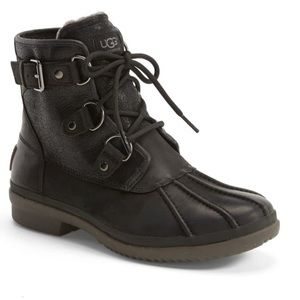 Ugg Lace Up Cecile Waterproof Duck Boots